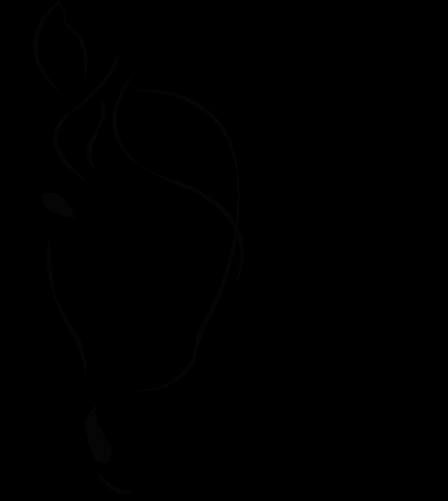 dessin cheval logo